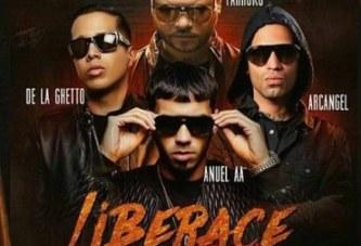 """Farruko y Anuel AA presentan """"Liberace RMX"""" junto a De La Ghetto y Arcangel"""