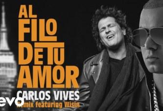 CARLOS VIVES ft WISIN – AL FILO DE TU AMOR (REMIX)[AUDIO OFICIAL]