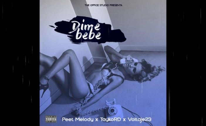 """""""Dime Bebe"""" el nuevo sencillo promocional de TaykoRD, Voltaje23 & Peet Melody"""