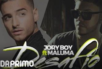 JORY BOY x MALUMA – DESAFIO [LYRIC VIDEO]