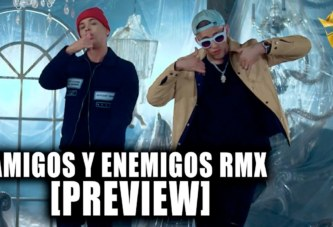 NORIEL x BAD BUNNY x ALMIGHTY – AMIGOS Y ENEMIGOS REMIX (PREVIEW)